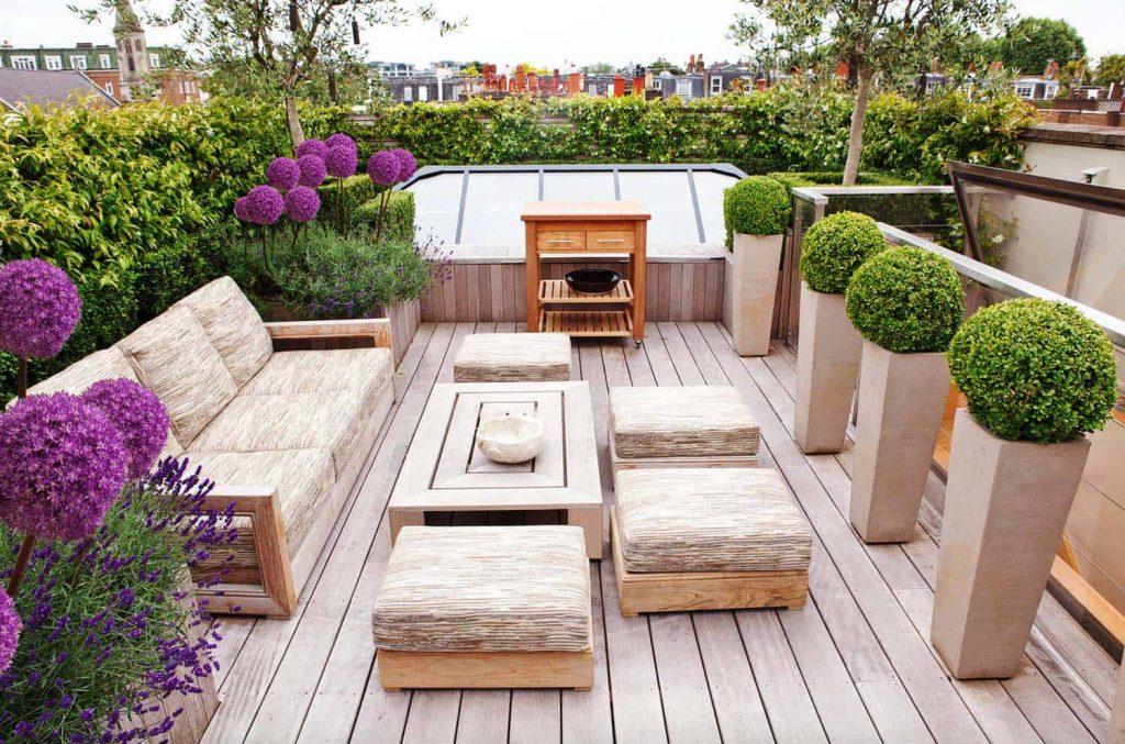 Rooftop Garden as Additional Outdoor Living Room