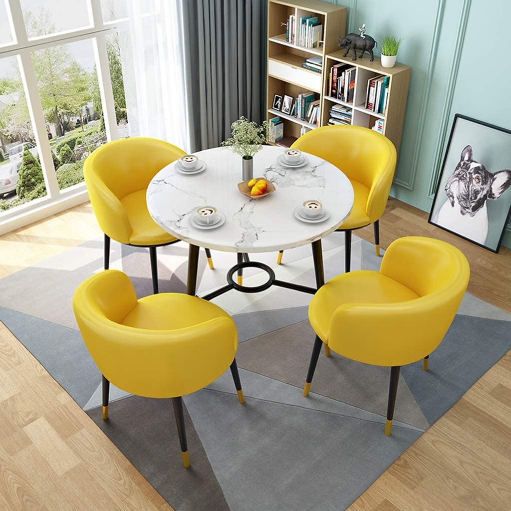 Cheerful Style Small Dining Room