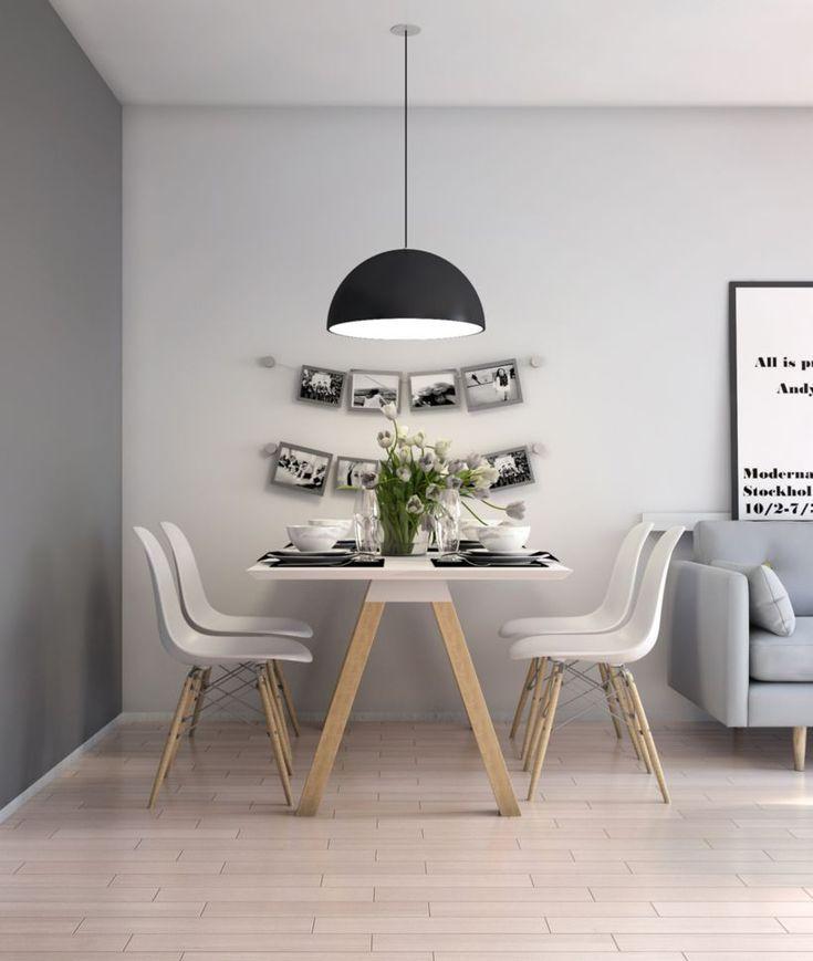 Scandinavian Small Dining Room
