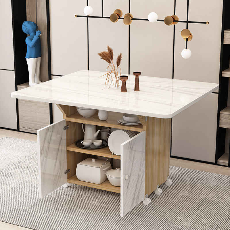 Small Dining Room with Multifunctional Furniture