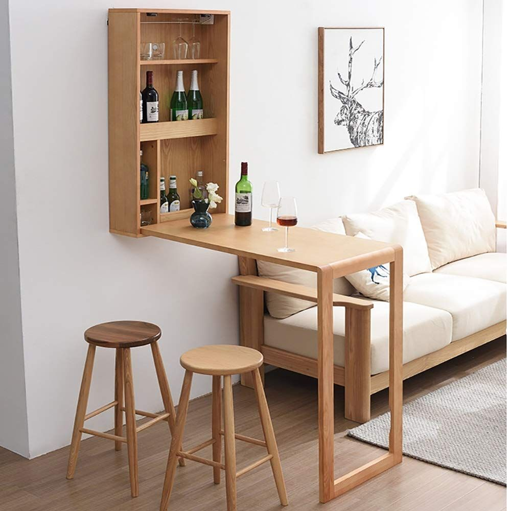 Bar Table with Storage Space