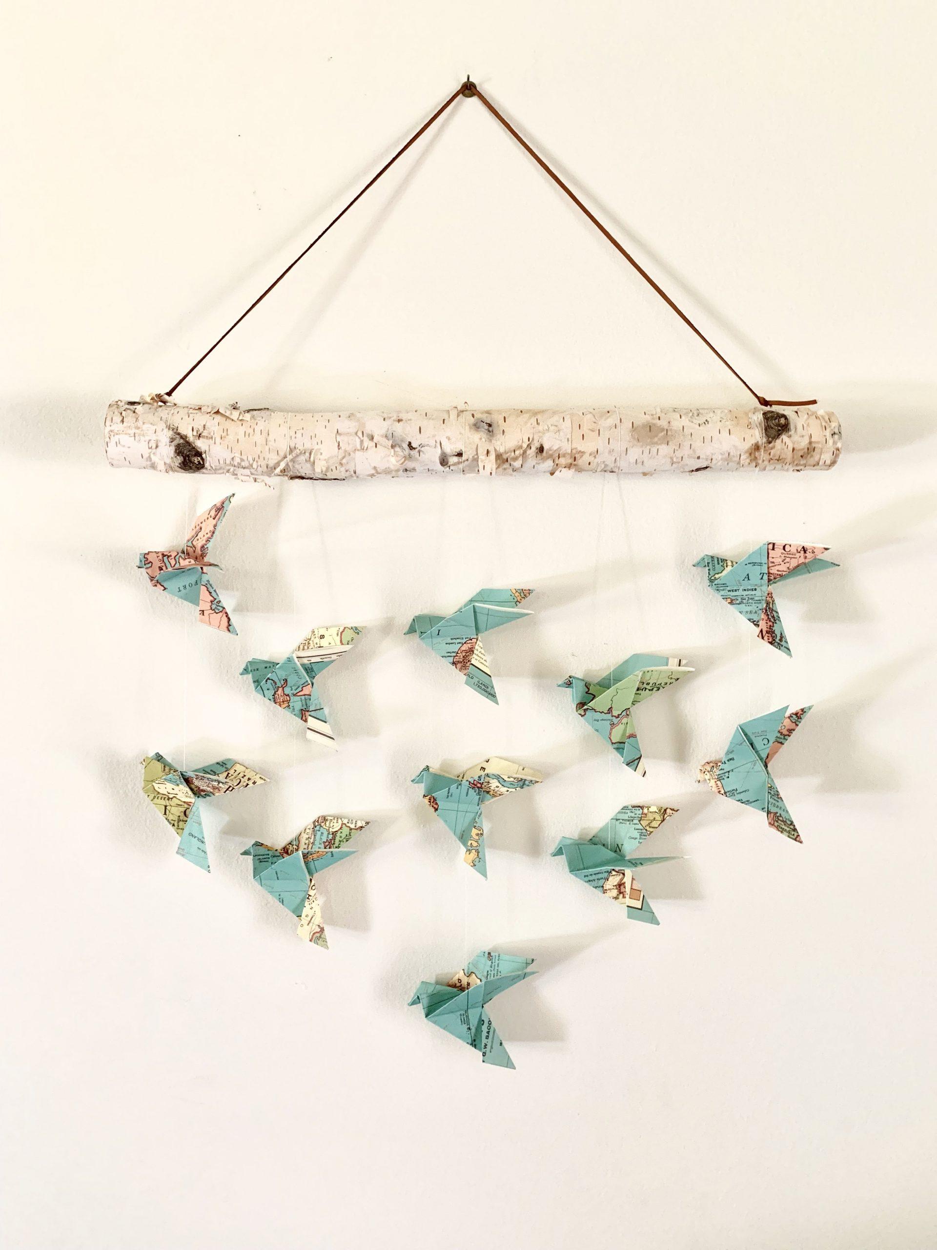 Beautiful Bird Shape Origami