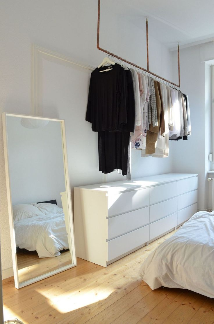 Clothes Hangers in the Bedroom