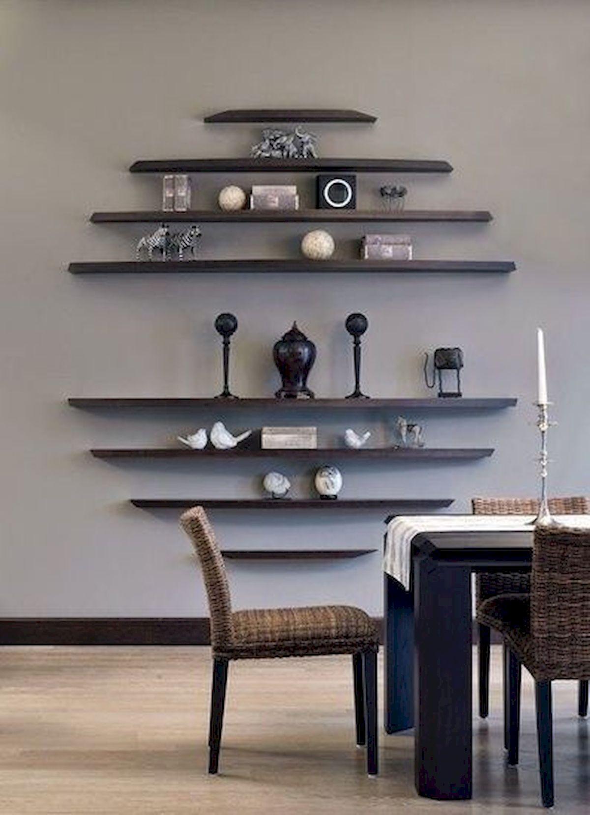 Hanging Shelves as Modern Decoration