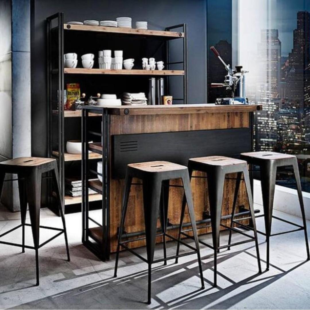 Industrial Bar Table Design