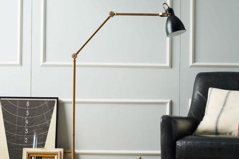 Industrial Standing Lamp