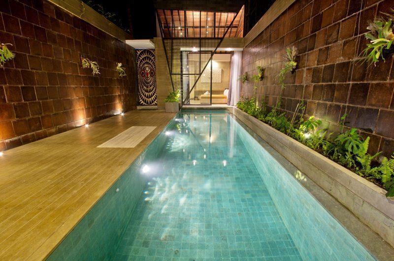 Minimalist and Elongated Swimming Pool