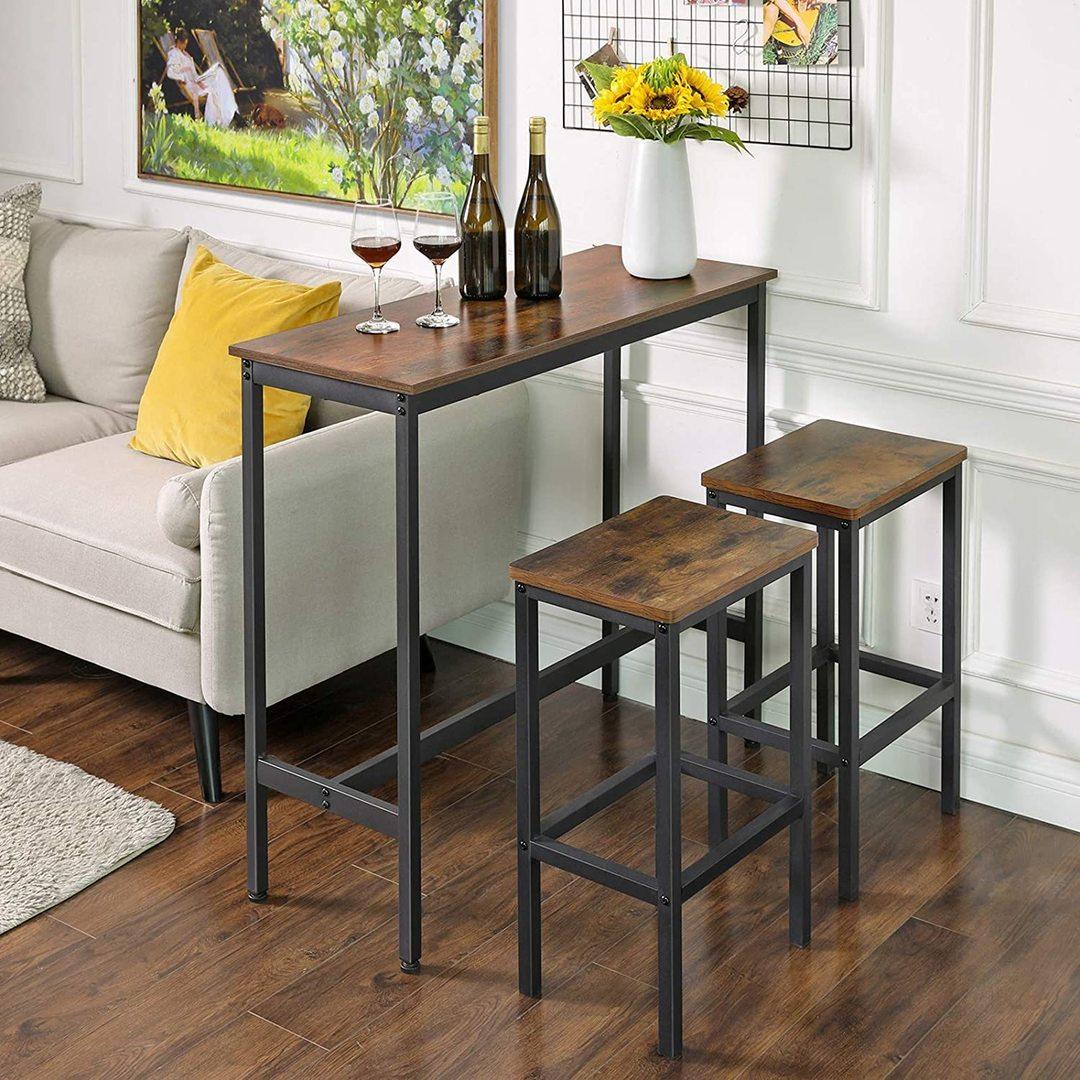 Rustic Bar Table Design