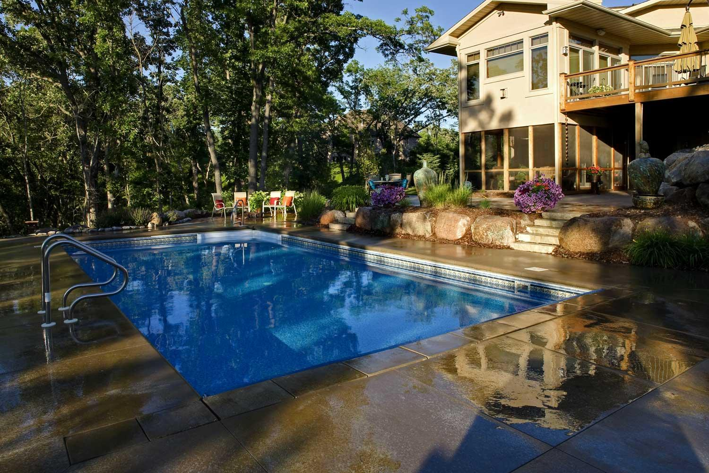 Shady Swimming Pool