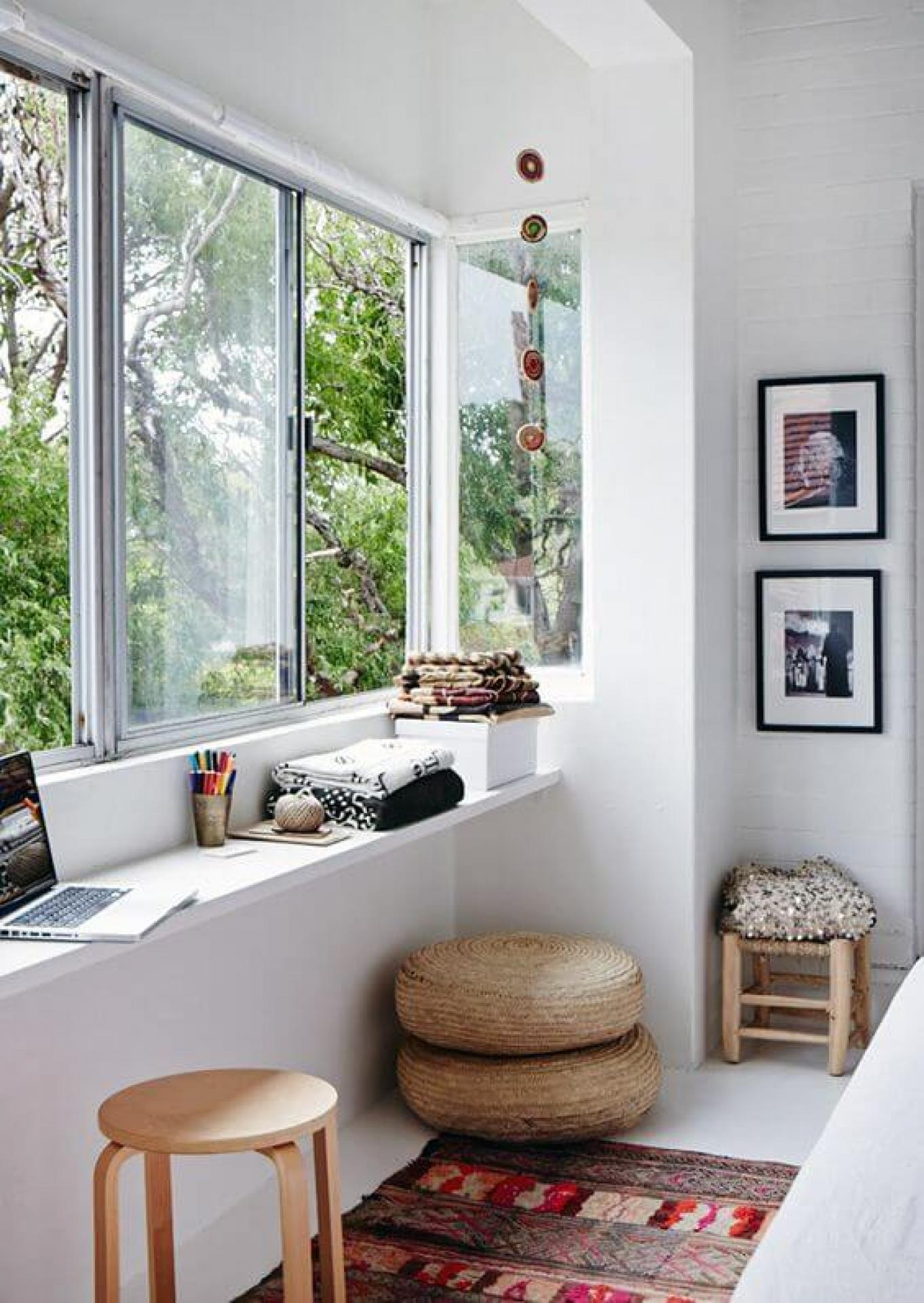 Storage on Windowsill