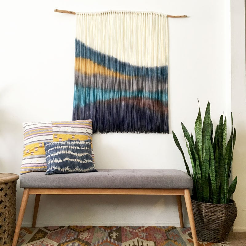 Wall Decoration from Fabric Wall Hanging